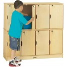 STACKING LOCKABLE LOCKERS - DOUBLE STACK