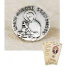 St Gerard Lapel Pin & Prayer Card
