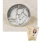 Venerable Matt Talbot Lapel Pin & Prayer Card