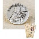St Agatha Lapel Pin & Prayer Card