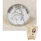 St John of God Lapel Pin & Prayer Card