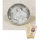 St Alphonsus Liguori Lapel Pin & Prayer Card