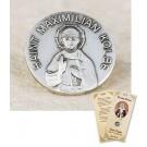 St Maximilian Kolbe Lapel Pin & Prayer Card