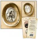 St Maximillian Kolbe Healing Saint Pocket Stone Refill