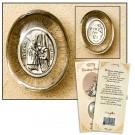 St Blaise Healing Saint Pocket Stone Refill