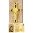 Brown Saint Benedict Cross in Gift Folder