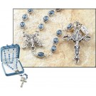 Blue Miraculous Rosary