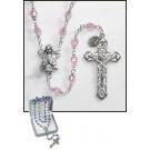 Pink Prague Rosary