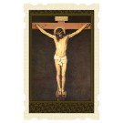 Our Lord Crucified Old Masters Holy Card