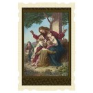 Jesus and the Little Children Old Masters Holy Card