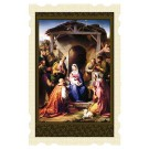The Nativity Old Masters Holy Card