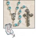 Aqua Tears of Mary Rosary