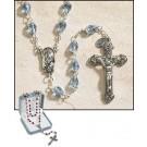 Light Blue Tears of Mary Rosary