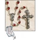 Ruby Tears of Mary Rosary