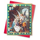 Joy to the World Nativity Scene Calendars with Envelope