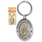 Guardian Angel Revolving Key Ring