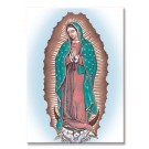 Our Lady of Guadalupe Metal Magnet