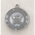 Jewelry/Pewter Navy Keyring