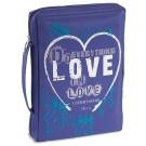 Love Microfiber Bible Cover