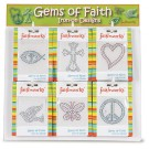 Gems of Faith Display