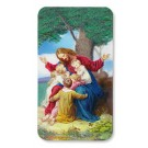 Jesus with Children Devotional 3D Holy Cards