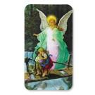 Guardian Angel Devotional 3D Holy Cards