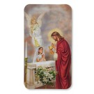 First Communion Girl Devotional 3D Holy Cards