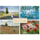 Birthday Impressionist Cards