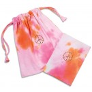 Peace Tie-Dye Symbols of Faith Drawstring Bag and Notebook