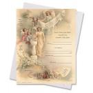 In God's Loving Arms Baptism Certificate