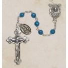Faux Turquoise Italian Semi-Precious Rosary