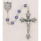 Tanzanite Swarovski Crystal Rosary