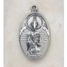 Sterling Silver St Christopher Medal