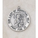 Sterling Our Lady of Perpetual Help Special Devotion Medal