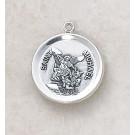 Sterling Patron Saint Michael Medal