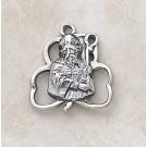 Sterling St. Patrick Special Devotion Medal