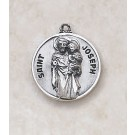 Sterling Patron Saint Joseph the Worker Medal