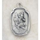 Sterling Silver St. Christopher Medal