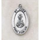 Sterling St. Jude Patron Saint Medal