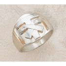 Franciscan Tau Sterling Silver Ring