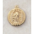 Gold Our Lady of Guadalupe Special Devotion Medal