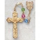 Multi-Color Swarovski Crystal Rosary