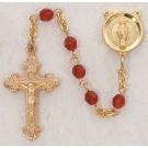 SRuby warovski Crystal Rosary