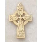 Large Gold Celtic Cross