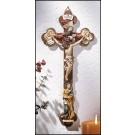 Mary and Holy Trinity Crucifix