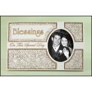 Blessings Wedding Photo Frame