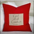 God of All Comfort Pillow