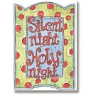 Silent Night, Holy Night Advent Calendar with Envelope