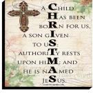 Christmas Scripture Treasure Plaque