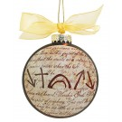 Witness Christmas Ornament